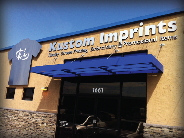 Kustom Imprints Storefront
