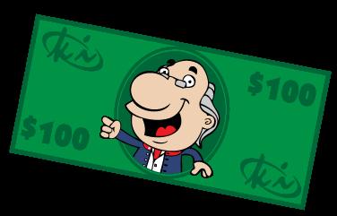 $100 Referral  Reward