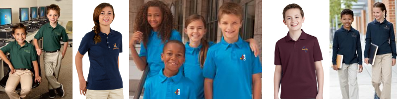 School Uniform Polo Shirts