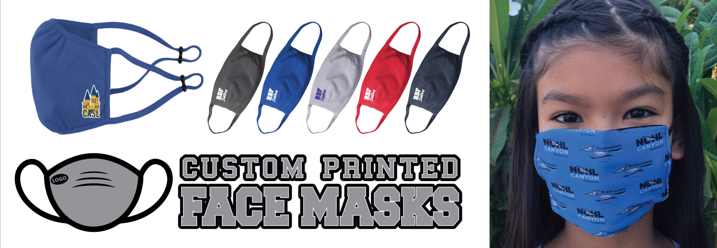 Custom Printed Face Masks