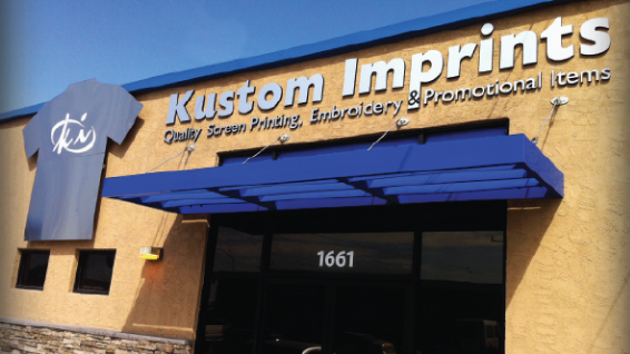 Kustom Imprints exterior facility